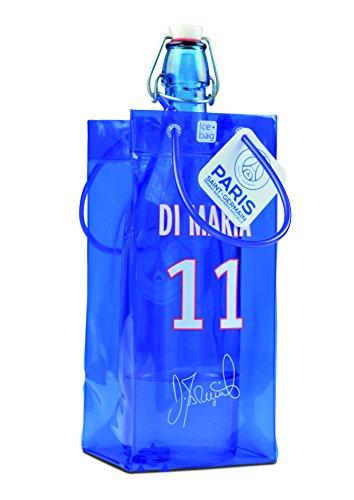 ice bag 17310 Rafraîchisseur à Bouteilles, PVC, Bleu/Blanc/Rouge, 11 x 11 x 25,5 cm
