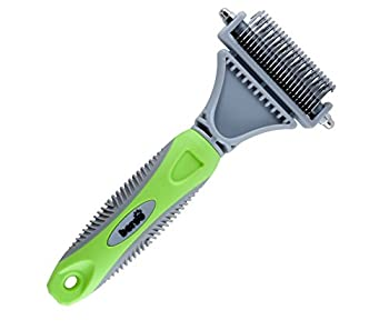 Best Pet Dematting Comb Tool Great to Brush Medium and Long Hair Dogs and Cats