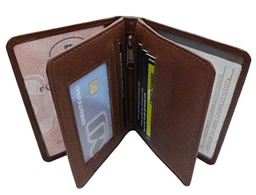 Kalfsleer ID-etui/ID-kaarthouder/creditcardetui MJ-Design-Germany