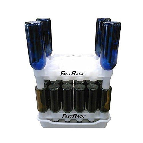 FastRack - Secador de Botellas para Botellas vacías de Cerveza y Vino FR (2 estantes + 1 Bandeja)