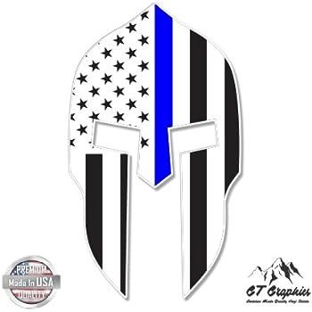 Large Size Vinyl Sticker 20 for Truck Car Cornhole Board GT Graphics Spartan Helmet Texas Flag