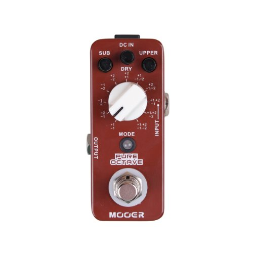 Mooer MOC1 Pure Octave Guitar Single Effect