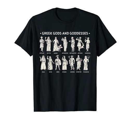 Greek Gods And Goddesses T-Shirt