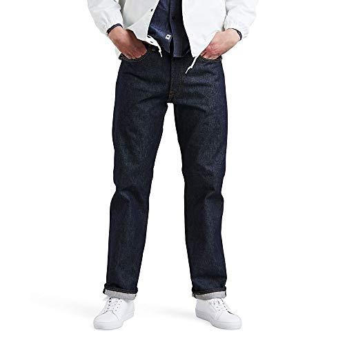Levi's Men's 501 Original Fit Jeans, Rigid - STF, 32W x 34L
