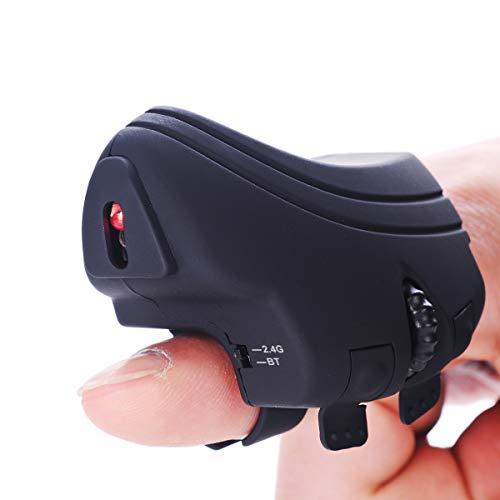 Finger Mouse,Geyes Wireless Finger Handheld 2.4G...