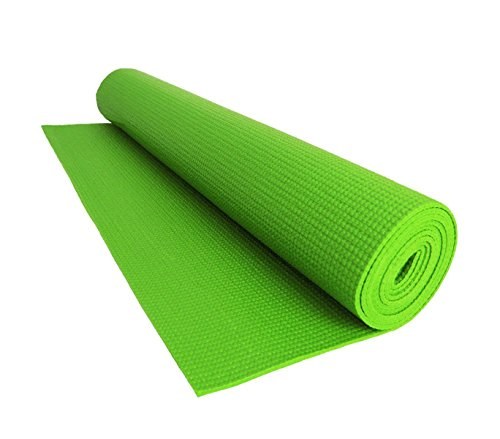 Vet italy Tappetino Yoga Tappeto Palestra Fitness Aerobica Pilates Ginnastica materassino Colore Verde