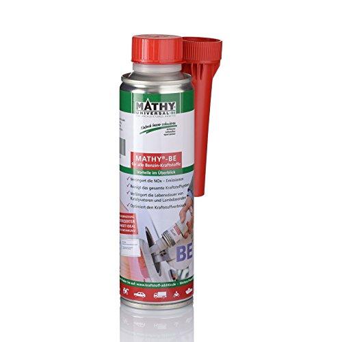 MATHY-BE Benzin System Reiniger, 250 ml - Benzin Additiv - TÜV geprüfter Benzin Zusatz - Kraftstoffadditiv