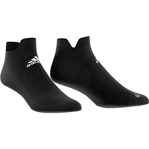 adidas Ask Low UL Socks, Unisex Adulto, Black/White/Black, M