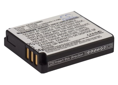 Replacement Battery for(Li-ion 1000mAh / 3.7Wh) Kodak PIXPRO SP360 4K, PlaySport Zx5, SP1-YL3