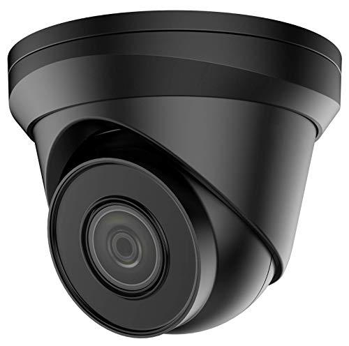 VIVID HD CÁMARA CCTV IP 4K UHD POE (CAM-IP-TURRET-8MP-B-V2) DOME TURRET 30M IR EXTERIOR NEGRO 2.8MM