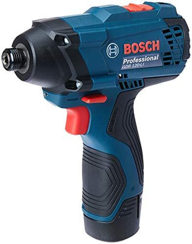 Bosch 06019F00E1-000, Parafusadeira de impacto a Bateria de 12V, Azul