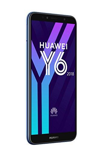 Huawei Y6 2018 Dual-SIM Smartphone 14,5 cm (5,7 Zoll) (3000mAh Akku, 16 GB interner Speicher, Android 8.0) blau