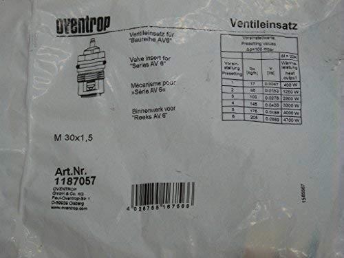 Oventrop Ventileinsatz Baureihe AV6