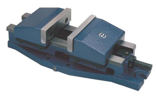 RÖHM 14802Typ 725UZ Cast Metall 4,17Maschine Vise mit SGN Normal Kiefer und Handkurbel, 200mm Backenbreite, 655mm Länge, Größe 5