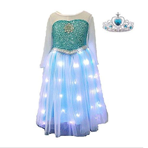 Product Image of the Frozen Elsa LED Dress