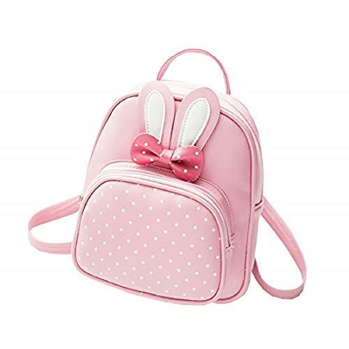 NRST Girls Cute Mini 5L Backpack (Pink) 5 L