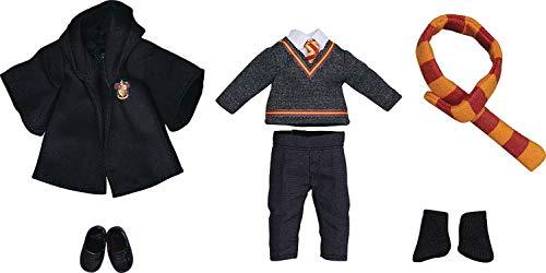 Good Smile Harry Potter Gryffindor Uniform Boy Nendoroid Doll Outfit Set, Multicolor