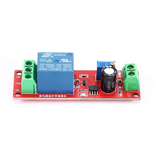 Monllack 12V, Einstellbarer Schalter, Zeitrelais, monostabiler Verzögerungsschalter, für Auto, für elektronische Geräte
