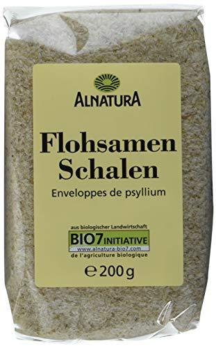 Alnatura Flohsamenschalen, 6er Pack (6 x 200 g)