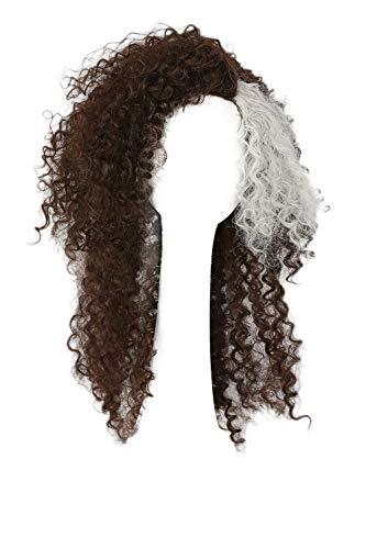 Mesky Bellatrix Peluca para Mujeres Larga y Ondulada/Rizada Carnaval Wig para Cosplay de Lestrange Disfraz para Chicas Accesorios de Fancy Dress