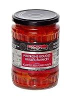 Optez ces émincés de poivrons rouges grillés de bton rouge pour accompagner vos plats Possédant un goût équilibré, ces poivrons sont agréables en bouche Ils vont rehausser le goût de vos plats et leur apporter une belle couleur Délicieux, ces émincés...