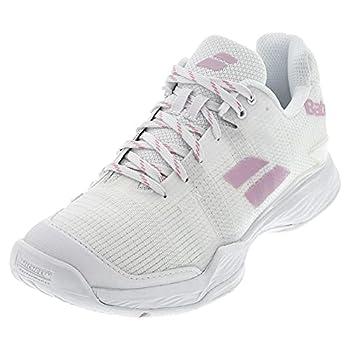 Babolat Women`s Jet Mach II All Court Tennis Shoes White  6