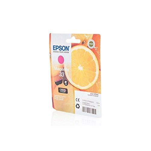 De Tinta original para EPSON EXPRESSION Premium XP de 645Epson 33C13t33434010, t334340–PREMIUM Impresora de tinta–Magenta–4,5ml