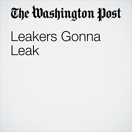 Leakers Gonna Leak copertina