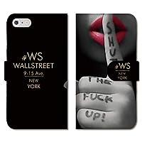 chatte noir iPhone12 ケース iPhone 12 ケース 手帳型ケース 手帳型 おしゃれ FUCK バニー セクシー 赤リップ NYC ニューヨーク ロゴ かっこいい A 手帳ケース