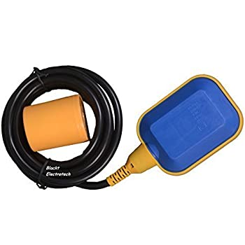 Blackt Electrotech: 230 Volts Float Switch Sensor for Water Level Controller with 3 Meter Wire: Select NO/NC