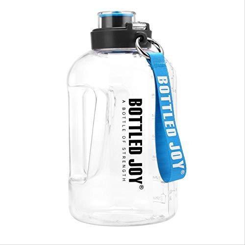[[[[[Botella De Agua para Hervidor De Gran Capacidad, Jarra De Agua Ecológica A Prueba De Fugas Sin Bpa con Asa Y Cordón para Colgar 1500ml]],Null,en]]]