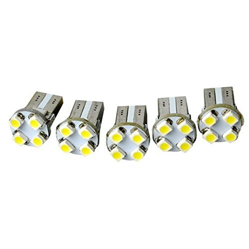 Ultra Lumineux LED Canbus SMD 3528 4 éclairage Blanc froid 5 x T10 Turn/Tail Light Car ampoule Base lampe 12 V à vendre