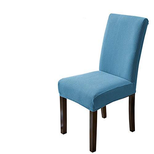 MIDODA - Juego de 1 fundas elásticas universales para silla de comedor, fundas extraíbles y lavables, para silla de comedor