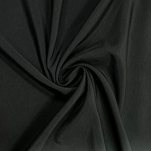 Taslan - Tela impermeable (0,5 m), color negro