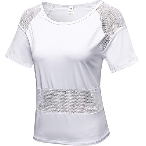 Clásico Chaleco para Fitness Camiseta para Correr Deporte Camisetas Deportiva de Mujer Camiseta sin Mangas Deportiva Tirantes Tank Top Transpirable Sueltos Gimnasio Ropa