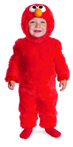 Sesame Street Light Up Elmo Toddler Costume, 3T-4T