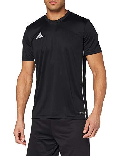 adidas Herren CORE18 JSY T-Shirt, Black/White, L