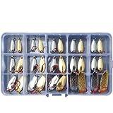 RoseFlower Señuelos de Pesca Kits de Señuelos Pesca Accesorios Cebos Artificiales Articulos