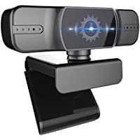 Yongjoy Auto Focus 1080p Webcam with Microphone