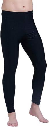 QSFDM Wetsuit Men Wet Suits Pant AntiUV Full Length Leggings Quick Dry Surfing Snorkeling Wetsuits Pant 4XL,Black,L