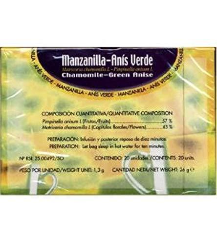 Soria Manzanilla Anis, 20 Stuk, Units