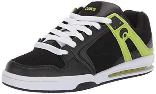 Osiris Herren PXL Schuh Skate Schuhe, Mehrere (schwarz/Lime), 37 EU