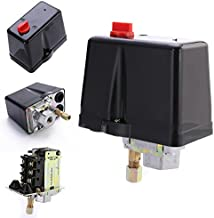 |Switches|3-Phase 230V 400V 16A Pressure Switch For Compressor Air Compressors Switch Control 90-120 PSI Home Tools|by AZUDAN|