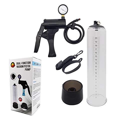 DGNXT Sponge Standgerät, Handbetriebsvakuumpumpe, mit Druckanzeige und Skala