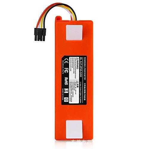 QIBIN Repuesto de batería de litio de 14,4 V para accesorios de barredora de aspiradora XIAOMI, 6500 mAh (color: 5200 mAh) (color: 5200 mAh)