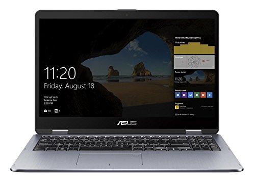 ASUS VivoBook Flip TP510UQ-E8033T Portatile Ibrido (2 in 1) 15.6' full HD, Intel i5-8250U 1.6GHz, 8 GB RAM, 1TB HDD, 128 GB SSD, Touch screen, Grigio [Germania]