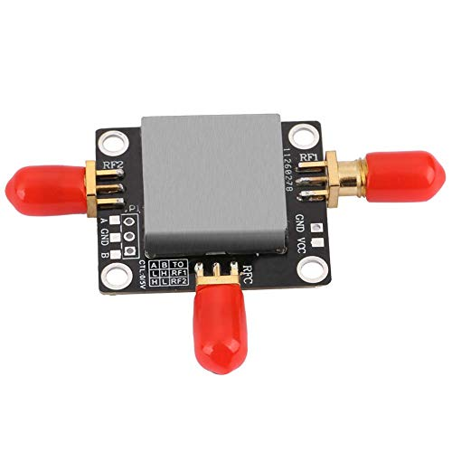 01 Spdt RF Switch, Robusto Amplificador de RF Lna, portátil de Baja inserción Conveniente para Amplificador Receptor de Amplificador de Uso Profesional de Uso General(DC-6GHZ)