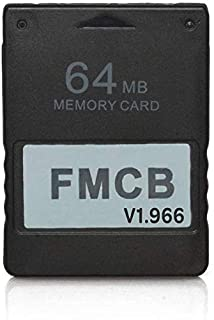 RGEEK FreeMcBoot FMCB 1.953 PS2 Memory Card 64MB for Sony Playstation 2 PS2,Just Plug and Play, Help You to Start Games on...