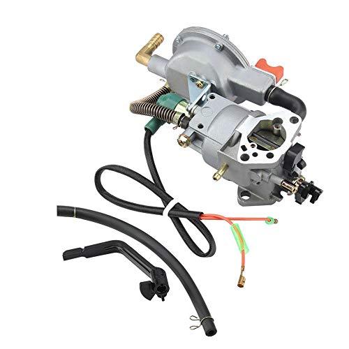 TOPINCN Handleiding Dual Fuel Carburateur voor HONDA GX390 188F 190F Gas Generator 17210-ZE3-505 Luchtfilter Gas Brandstof Tank Gezamenlijke Filter Grasmaaier Waterpompen