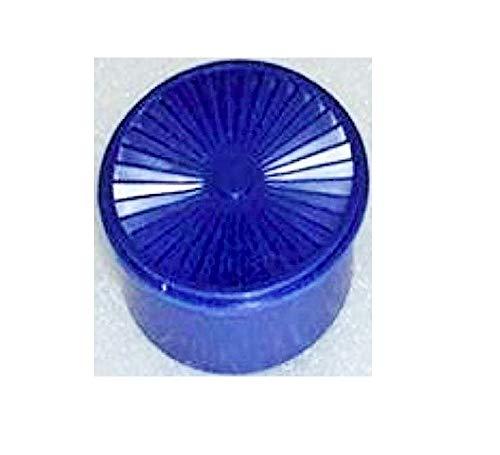Vintage Tupperware Mini Servalier Stacking Canister Refrigerator Magnet Blue